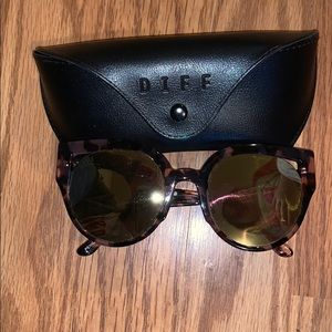 Diff brand penny himilayan tortuis sunglasses